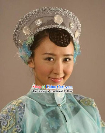 Traditional Chinese Wife Hat of Big Family