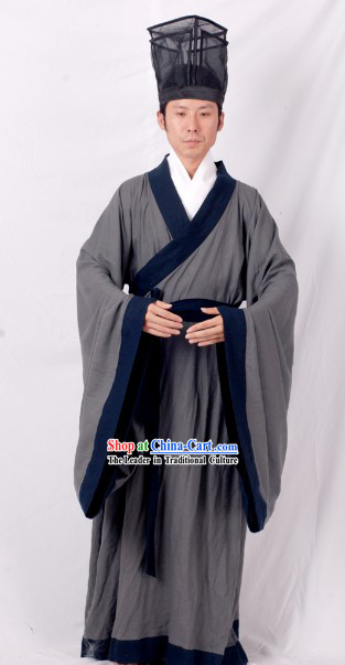 Su Shi Su Dongpo The Chinese Renaissance Man Clothing and Hat Complete Set