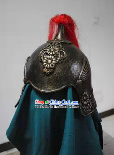 Ancient Chinese Military General Helmet Hat for Men