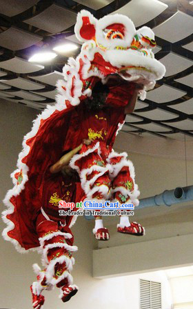 Professional Lion Dance Troupe Performance Tiger Feet Costume for Adults or Kids