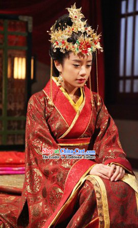 Ancient Chinese Classic Handmade Wedding Crown