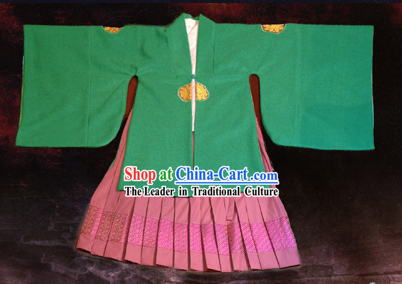 Ancient Chinese Hanfu Clothing Complete Set for Kids