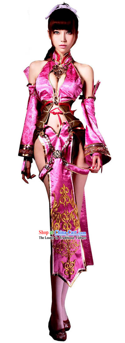 Ancient Chinese Style Beauty Cosplay Costumes Complete Set