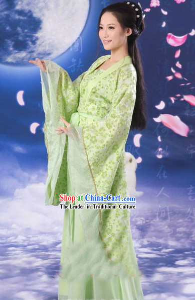 Ancient Chinese Spring Han Fu Clothing for Women