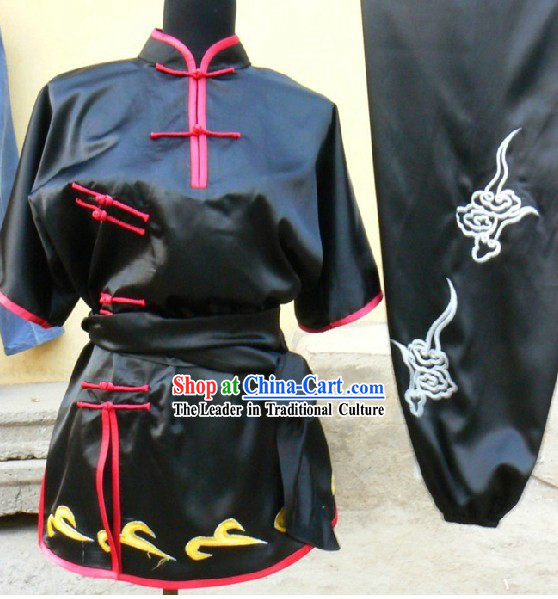 Chinese Embroidery Long Fist Southern Fist Martial Arts Clothes for Women