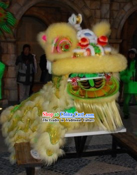 Professional Competition and Celebration Lion Dancing Costumes Complete Set