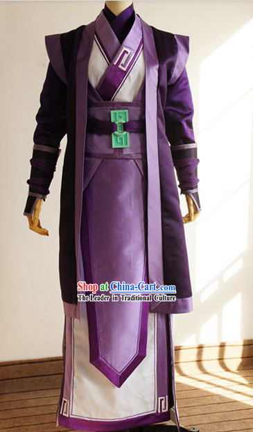 Ancient Legend of Sword and Fairy Swordsman Cosplay Clothing Complete Set