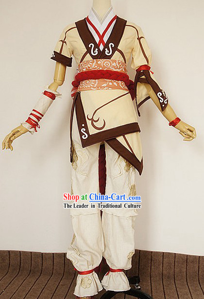 Ancient Paladin TV Drama Cosplay Costumes Complete Set for Men