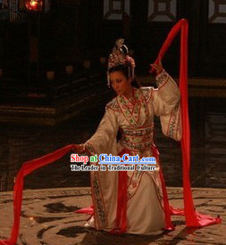 Long Sleeve Luo Shen Classical Dancing Costumes for Women