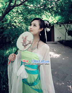 Three Kingdoms Legend Xiao Qiao Costumes for Girls