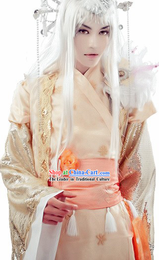 Ancient Chinese Electronic Game Prince Cosplay Costume Complete Set for Men