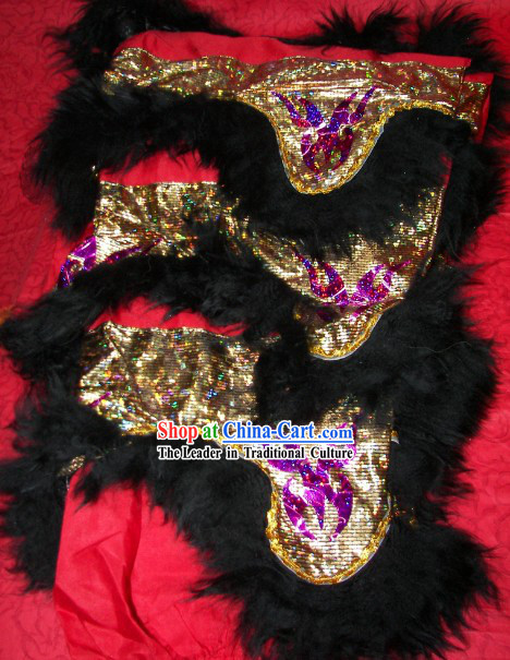 Good Quality Two Pairs of Lion Dance Pants and Claws Covers