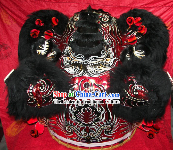 Top Quality Competition and Parade Chinese Lion Dance Costumes Complete Set