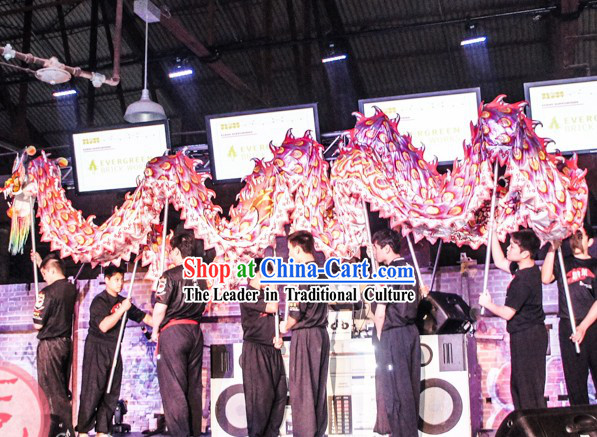 Southern Style Supreme Luminous Supreme Dragon Dance Props Complete Set