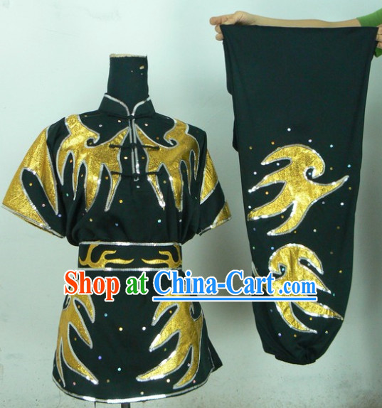 Top Professional Wushu Competition Kung Fu Uniform Complete Set