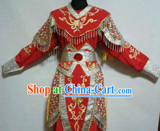 Chinese Traditional Female General Armor Costumes