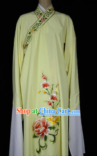 Chinese Ancient Long Sleeves Embroidered Clothing for Men