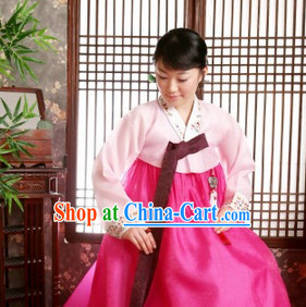 Korean Traditional Female Hanbok Clothing