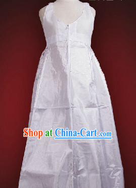 Korean Inside Clothing White Hanbok for Women