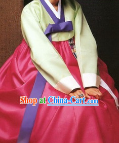 Traditional Occasion Hanbok Suit for Women