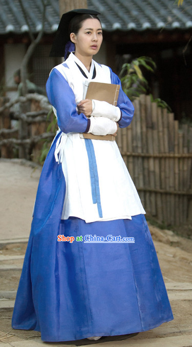 Korean Traditional Palace Maid Clothes