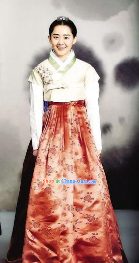 Korean Traditional Hanbok Clothes