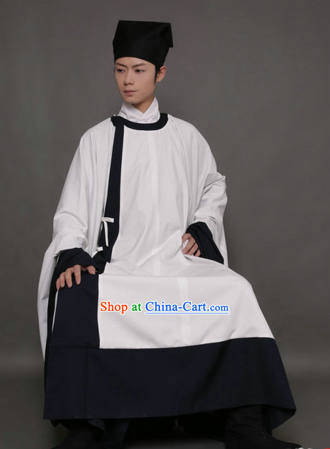 Top Ming Dynasty Lanshan the Formal Attire Worn by Scholars and Students