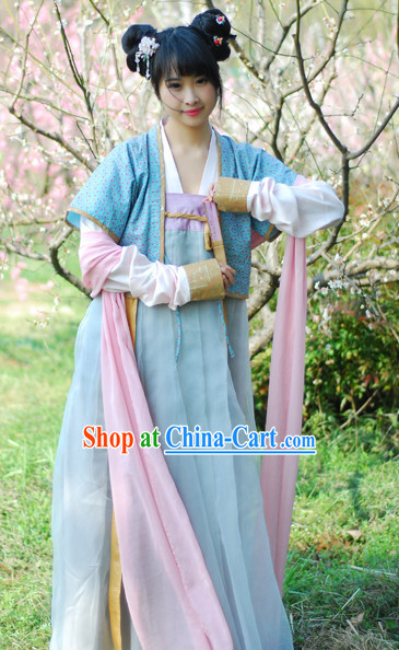 Han Dynasty Female Traditional Suit
