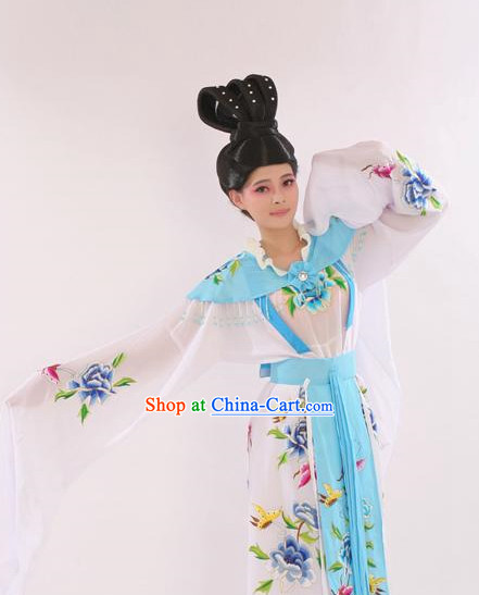 Traditional Water Sleeves Costumes for Women