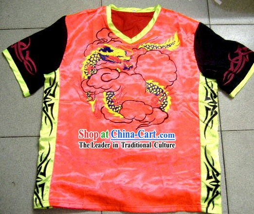 Professional Stage Performance or Parade Dragon Dance T-shirt