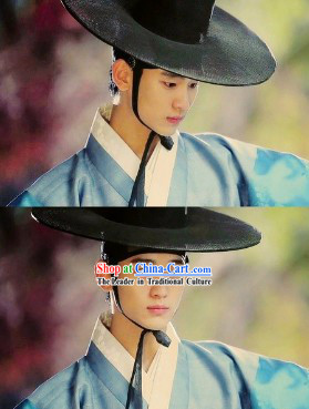 Kim Soo Hyun Man from the Stars Ancient Korean Clothes and Hat for Men
