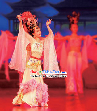 Teaching 4VCD of Ancient Chinese Palace Han Dynasty and Tang Dynasty Dance