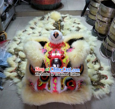 Supreme Top Celebration Lion Dance Costumes Complete Set