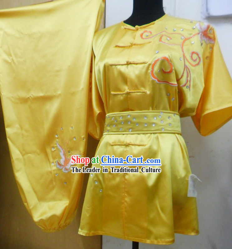 Classic Summer Wear Martial Arts Clothing Three Pieces Complete Set