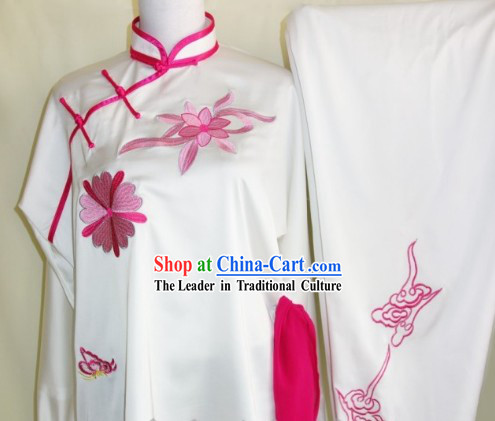 Kung Fu _Kungfu_ Uniform Silk White Cuff
