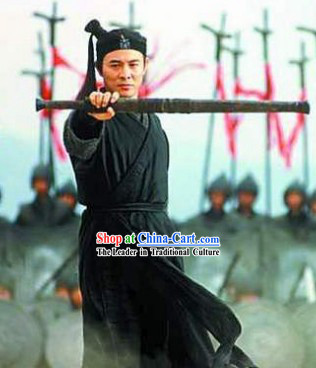 Jet Li's Costume and Headwear Complete Set in Film Hero
