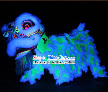 Luminous Lion Dance Head and Body Costumes Complete Set