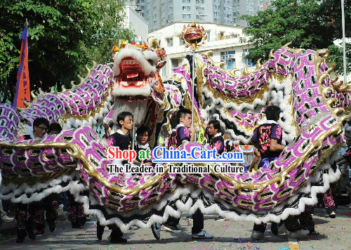 Supreme Big Celebration Dragon Dance Costumes Complete Set