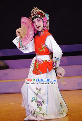Chinese Opera Selling Water Hua Dan Costumes for Children