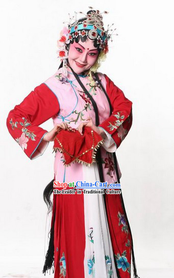 Traditional Chinese Opera Selling Water Hua Dan Costumes for Children