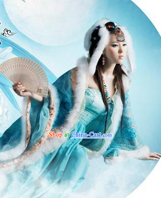 Ancient Chinese Fox Spirit Costumes Complete Set