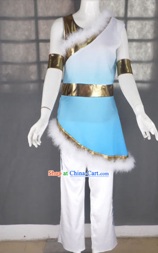 Drum Player Dance Costumes Complete Set