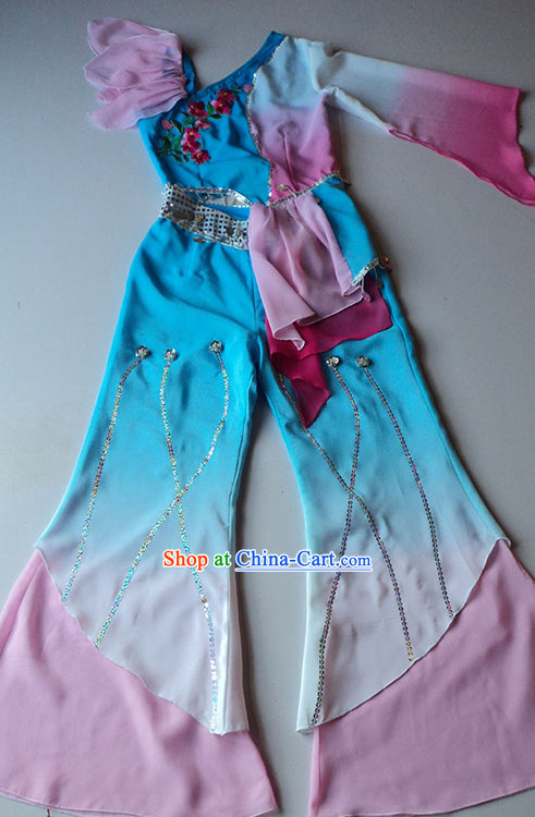 Old Anhui Style Recital Classical Dancing Costumes