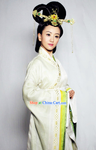 Chinese HanFu Traditional Costume of Han