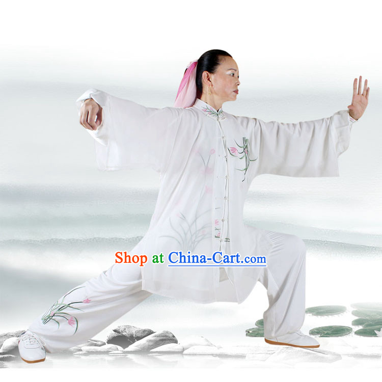 Orchid Kung Fu Tai Chi Silk Uniform and Cape