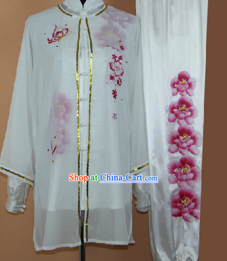 Top Professional Silk Tai Chi Competition Suit