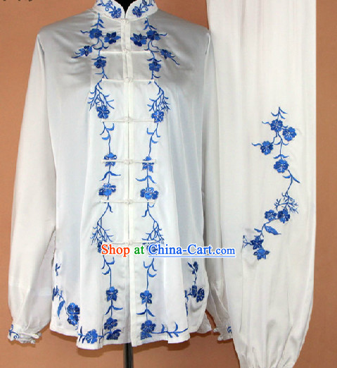 Top Professional Silk Tai Chi Competition Uniform