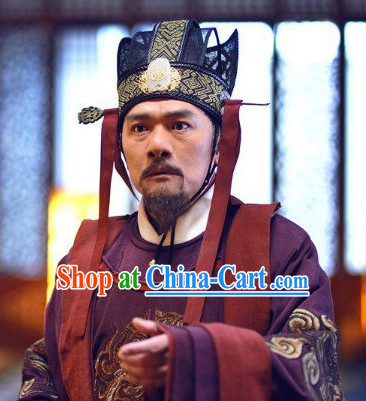 Tang Dynasty Chinese Prime Minister Hat