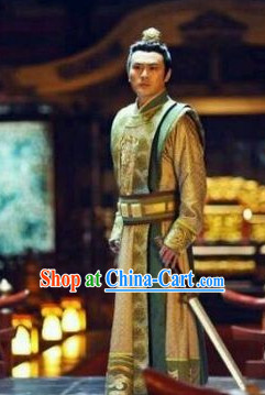 Chinese Tang Dynasty Prince Designer Clothes