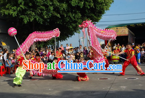 Luminous Chinese New Year Dragon Dance Costume Complete Set for Children